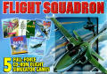 Flight Squadron DOS Front Cover