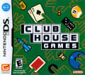 Clubhouse Games Nintendo DS Front Cover