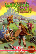 Wizard's Crown Commodore 64 Front Cover