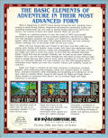 Might and Magic II: Gates to Another World Amiga Back Cover