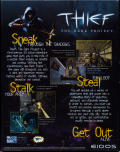 Thief: The Dark Project Windows Back Cover
