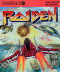 Raiden TurboGrafx-16 Front Cover