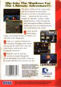 Shadowrun Genesis Back Cover