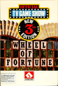 Wheel of Fortune: New 3rd Edition Commodore 64 Front Cover