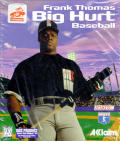 Frank Thomas Big Hurt Baseball DOS Front Cover