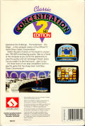 Classic Concentration: 2nd Edition Commodore 64 Back Cover