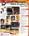 NBA Live 98 Windows Back Cover
