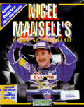 Nigel Mansell's World Championship Racing Amiga Front Cover