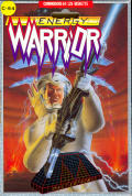 Energy Warrior Commodore 64 Front Cover