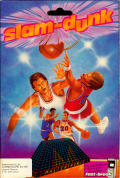 Slam-Dunk Commodore 64 Front Cover