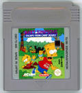 Bart Simpson's Escape from Camp Deadly Game Boy Media
