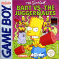 The Simpsons: Bart vs. the Juggernauts Game Boy Front Cover