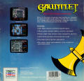 Gauntlet Commodore 64 Back Cover