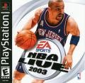 NBA Live 2003 PlayStation Front Cover