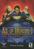 Age of Wonders II: The Wizard's Throne Windows Front Cover