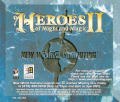 Heroes of Might and Magic II: The Succession Wars DOS Other Jewel Case - Back