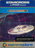 Starcross Commodore 64 Front Cover