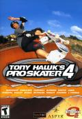 Tony Hawk's Pro Skater 4 Macintosh Front Cover