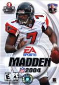 Madden NFL 2004 Windows Front Cover