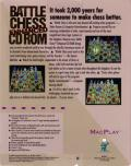 Battle Chess Enhanced CD ROM Macintosh Back Cover