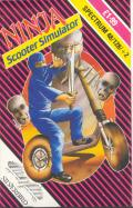Ninja Scooter Simulator ZX Spectrum Front Cover