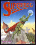 Superfrog Amiga CD32 Front Cover