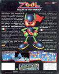 Zool Amiga CD32 Back Cover