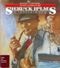 """Sherlock Holmes in """"Another Bow"""" Commodore 64 Front Cover"""