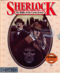 Sherlock: The Riddle of the Crown Jewels Commodore 64 Front Cover