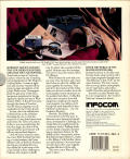 Sherlock: The Riddle of the Crown Jewels Commodore 64 Back Cover