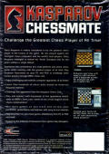 Kasparov Chessmate Palm OS Back Cover