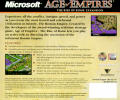Age of Empires: The Rise of Rome Windows Back Cover