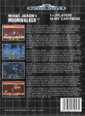 Michael Jackson's Moonwalker Genesis Back Cover