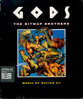 Gods Atari ST Front Cover