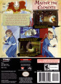 Avatar: The Last Airbender GameCube Back Cover