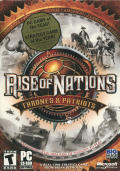 Rise of Nations: Thrones & Patriots Windows Front Cover