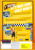 Crazy Taxi Windows Back Cover