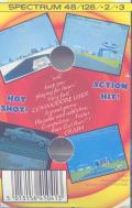Crazy Cars ZX Spectrum Back Cover