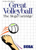 Great Volleyball SEGA Master System Front Cover