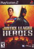 Justice League Heroes PlayStation 2 Front Cover