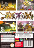 Godzilla: Destroy All Monsters Melee GameCube Back Cover