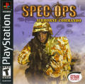 Spec Ops: Airborne Commando PlayStation Front Cover