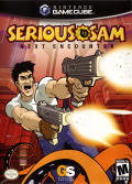 Serious Sam: Next Encounter GameCube Front Cover
