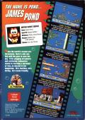 James Pond: Underwater Agent Genesis Back Cover