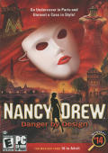 Nancy Drew: Danger by Design Windows Front Cover