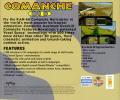 Comanche CD DOS Other Jewel Case - Back
