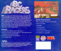 BC Racers DOS Back Cover