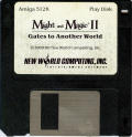 Might and Magic II: Gates to Another World Amiga Media Disk 1/2