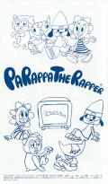 PaRappa the Rapper PSP Inside Cover Left