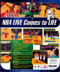 NBA Live 99 Windows Back Cover